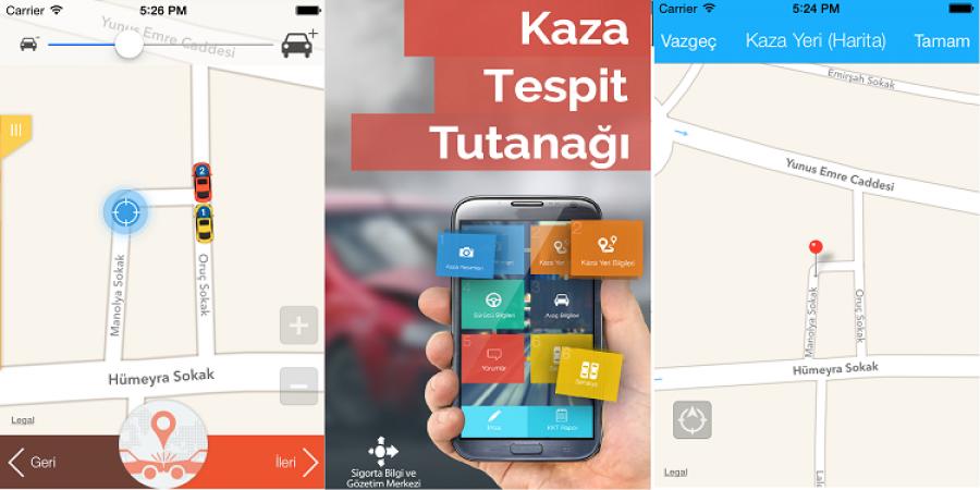 Trafik Kaza Tespit Tutanağı